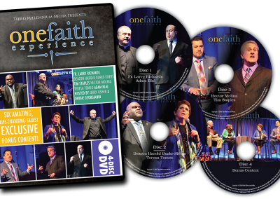 OneFaith Experience DVD Set Packaging